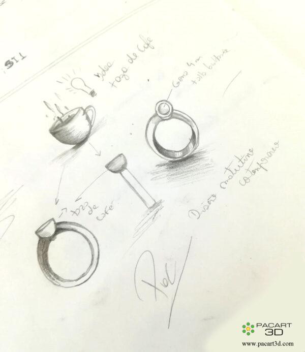 Inifinite Simplicity anillo de compromiso